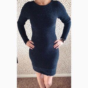 Victoria Secret Sparkle Sweater Dress.